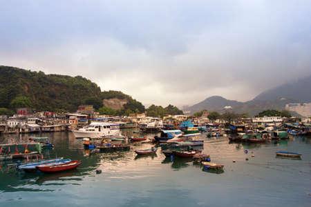 hardships: Hongkong Lei Yue Mun typhoon shelter Editorial