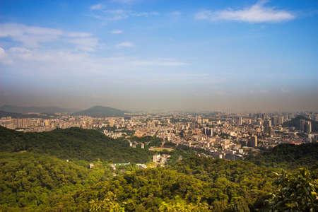 Guangzhou: Baiyun Mountain overlooking Guangzhou