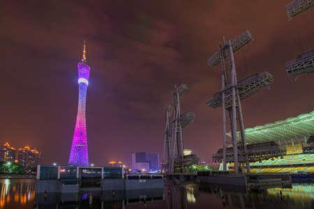 Canton Tower at night