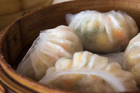 the local characteristics: steamed dumplings