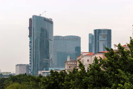 dreams of city: Macao city of dreams Casino Editorial