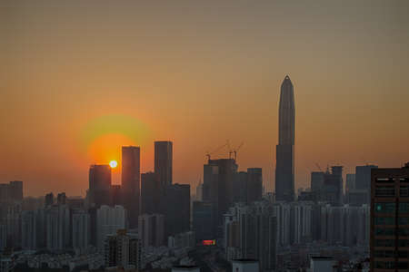 district: Futian District Shenzhen CBD business district