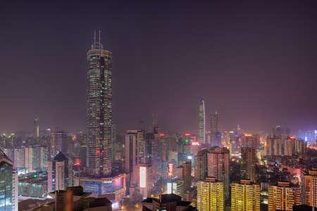 Shenzhen Huaqiang North SEG Plaza City Skyline