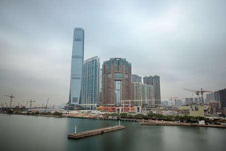 Hongkong World Trade Center and the Harbourside