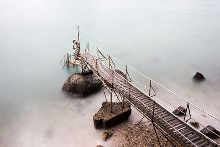 Hongkong seaside scenery