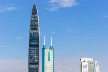 Skyscrapers in Shenzhen