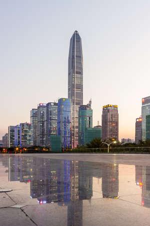 Shenzhen city axis