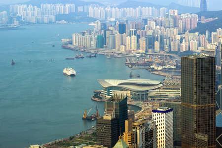 Hongkong city scene