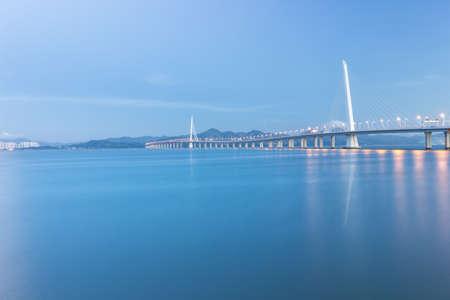 De Shenzhen-Baaibrug over het overzees