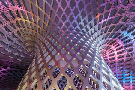 Modern architectural design Stock Photo