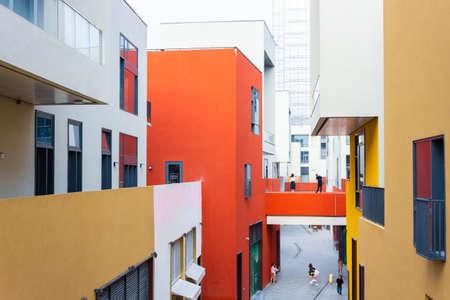 modern building in Shenzhen