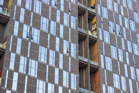 Urban building facade 新聞圖片