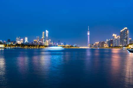 Night view of Guangzhou City
