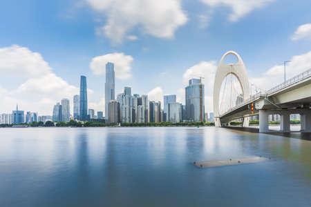 Guangzhou City Scenery Stockfoto