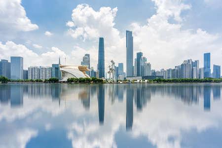 Guangzhou City Scenery Banco de Imagens