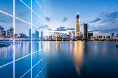 Shenzhen Houhai City Complex and Technology Concept
