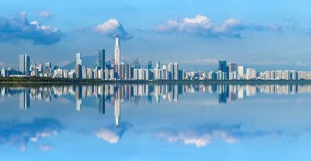 Central Building Skyline in Shenzhen