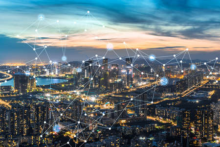 Shenzhen Qianhai Free Trade Zone and 5G Internet Concept