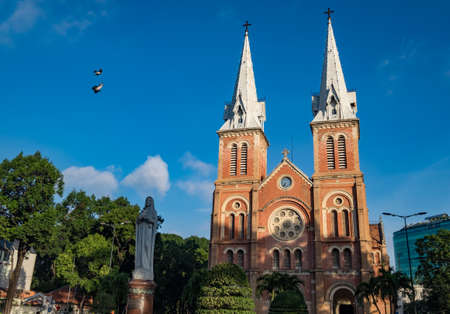 Notre-Dame Cathedral Basilica of Saigon, officially Cathedral Basilica of Our Lady of the Immaculate Conception is a cathedral located in the city of Ho Chi Minh City, Vietnam.