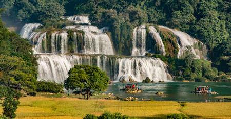 Waterfall - Detian waterfall