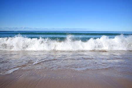 Perfect Wave Crashing Stock Photo