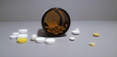 Close-up Medication. Pills closeup.medical drugs