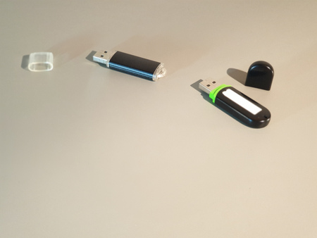 USB drive. External media Pocket hard drive.