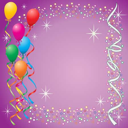 Party balloons Stock Vector - 3204941