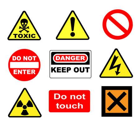 trespass: Warning signs