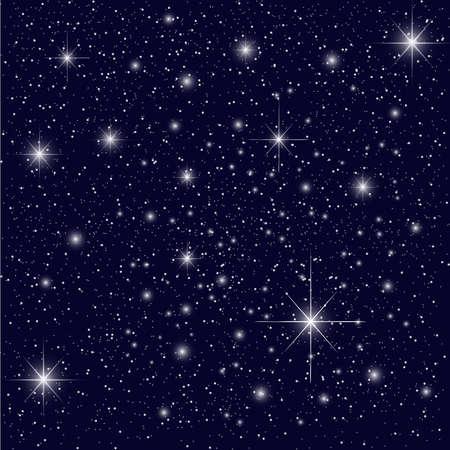 milkyway: Night Sky met Sterren