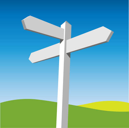 guidepost: Sign Post