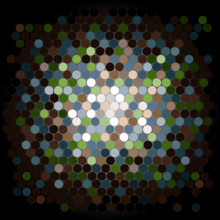 Abstract Background Dot Pattern Vector