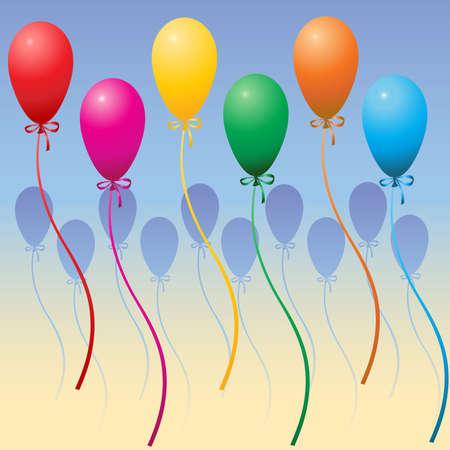 Party Balloons Stock Vector - 3310586