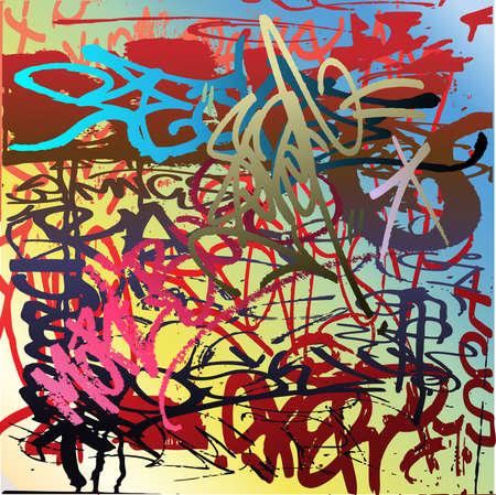 slums: A Wall of Graffiti