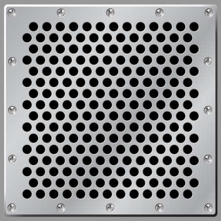vent: Metal Background Air Vent