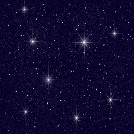 Night Sky with lots of Stars Stock Photo - 4174226