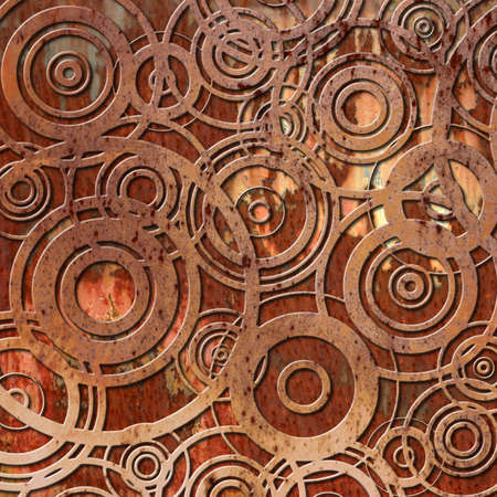 An Old Rusty Metal Background photo