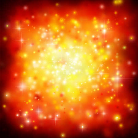 An Abstract Background with Stars Stock Photo - 5874351