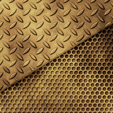 treadplate: Grunge Metal Background Stock Photo