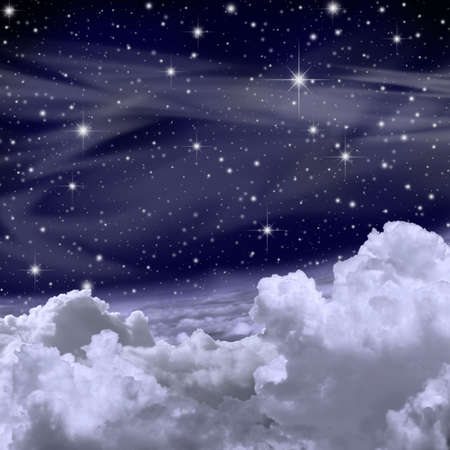 night sky and stars: Sky Background