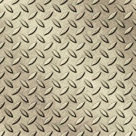 tread plate: Grunge Metal Tread Plate Background Stock Photo