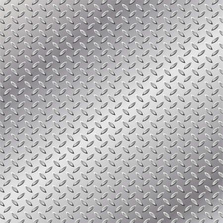 diamondplate: Un background metal con battistrada Plate Pattern  Vettoriali