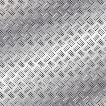 brushed: A Metal Background with Tread Plate Pattern