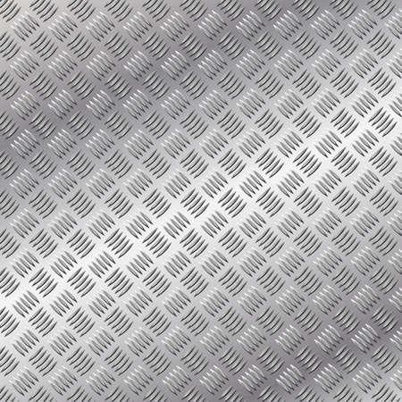 pisada: Un fondo de metal con patr�n de placa de Tread