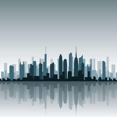 городской пейзаж: