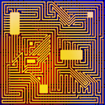 circuitboard: A Computer Circuit Board Background Pattern Stock Photo