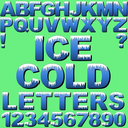 sopel lodu: Zestaw zimnej listów śniegiem lub lodem