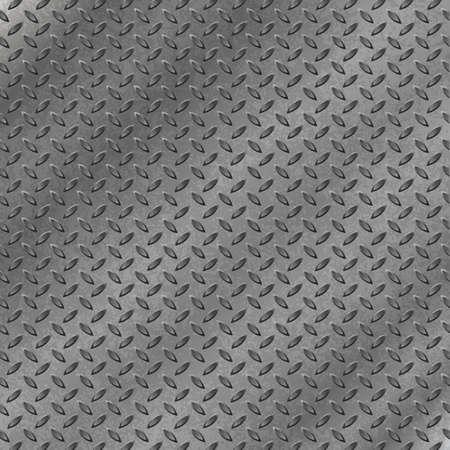 Un fondo de metal con la banda de rodadura Plate