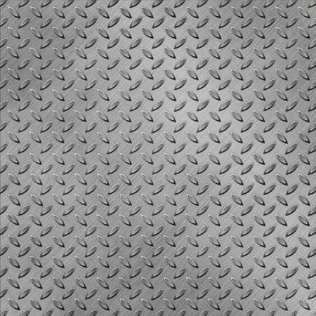 A Metal Background with Tread Plate Pattern Stock Photo - 15058009