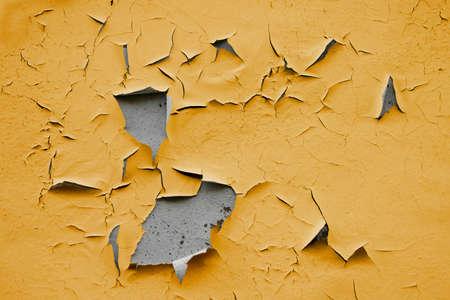 Een grunge achtergrond met Old peel ing Paint